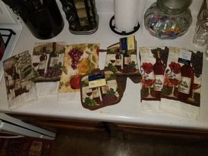 Wine Kitchen towels and pot holders for Sale in San Antonio, TX