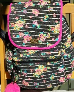 LuvBetsey 100%cotton Quilted Backpack For School Or Traveling for Sale in Glendale,  CA
