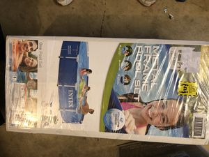 Intex 12ft steel frame pool for Sale in Tracy, CA