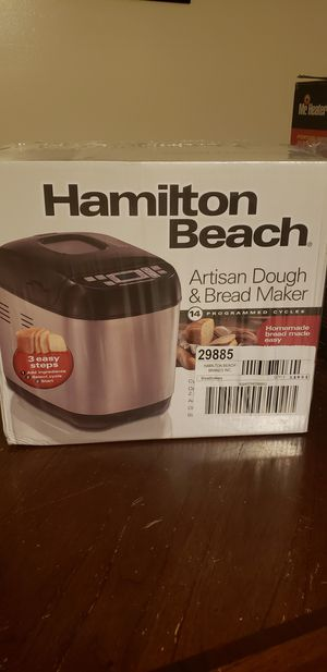 Hamilton Beach Bread Maker for Sale in Philadelphia, PA