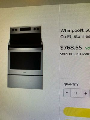 Stainless Steel Whirlpool oven for Sale in Chesapeake, VA