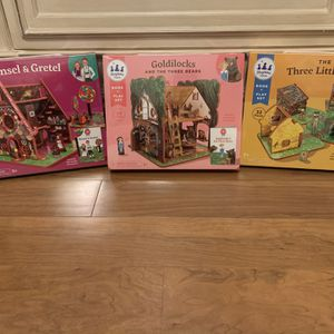 Story Time Toys , Book And 3D Puzzle Play House for Sale in New Port Richey, FL