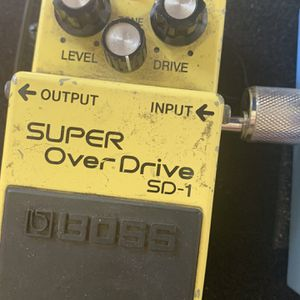 Boss Super Overdrive for Sale in Fontana, CA