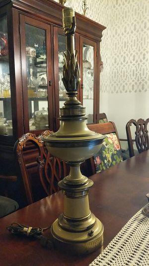 STIFFEL Brass & Enamel MCM Lamp for Sale in Del Valle, TX