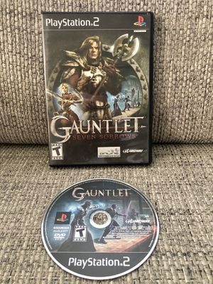 Gauntlet: Seven Sorrows Sony Playstation 2 PS2 Black Label NO MANUAL TESTED for Sale in Fresno, CA