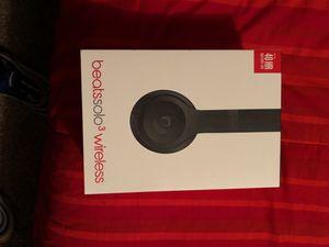 Beats solo3 wireless for Sale in Dallas, TX