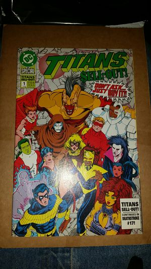DC Teen Titans SELL-OUT #1 for Sale in Mason City, IA