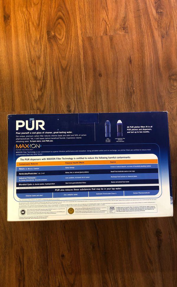 PUR 18- Cup Dispenser Filtration System