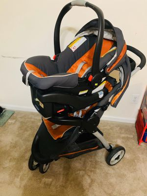 Graco one click connect stroller and car seat for Sale in Columbus, GA
