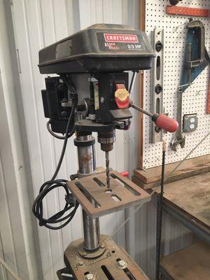 Craftsman drill press for Sale in Hesperia, CA