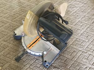 RYOBI Compound miter saw for Sale in Douglasville, GA