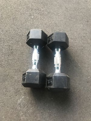 15 pound weights for Sale in Boston, MA