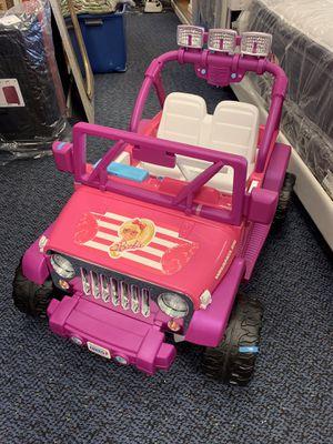 Brand New 12v Power Wheel Barbie Jeep for Sale in Virginia Beach, VA