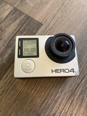 GoPro Hero 4 black edition with battery backpack for Sale in Los Angeles, CA