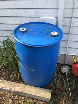 55 gallon water drum/ tank for Sale in Everett, WA