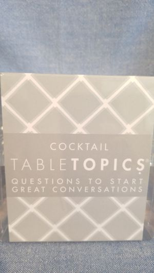 Cocktail Table Topics Game for Sale in Normandy, TN