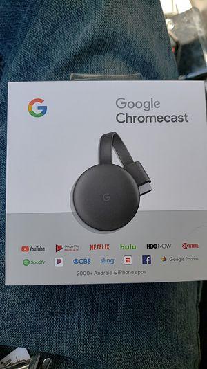 Google chromecast, new in box! for Sale in Deerfield Beach, FL