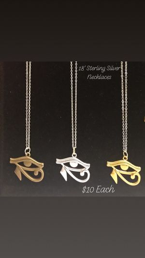 18' Sterling Silver Necklace for Sale in Milwaukee, WI