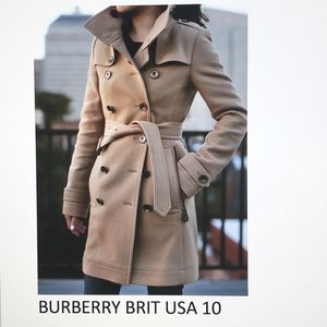 Burberry Wool Coat size 10 USA for Sale in Buffalo Grove, IL