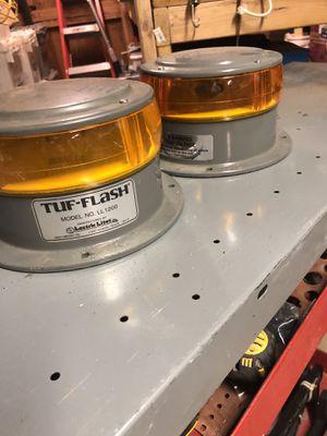 Tuf flash amber beacon for Sale in Homer Glen, IL