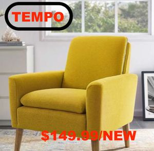Accent Chair, Yellow for Sale in Santa Ana, CA