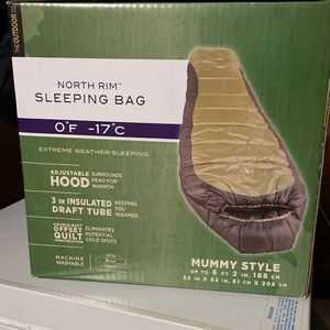 BRAND NEW - Coleman North Rim Sleeping Bag for Sale in Redwood City, CA