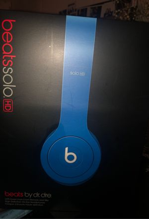 ROYAL BLUE BEATS BY DR DRE for Sale in Long Beach, CA