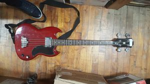 Epiphone EB-0 Electric Bass Cherry Guitar for Sale in Baltimore, MD