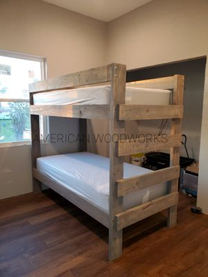 Twin over twin bunk bed for Sale in Houston, TX