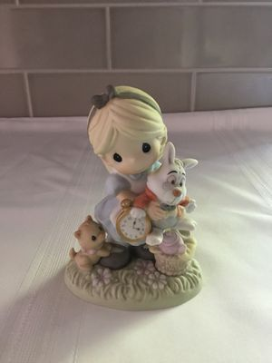 Precious Moments Alice In Wonderland and White Rabbit for Sale in Elk Grove, CA