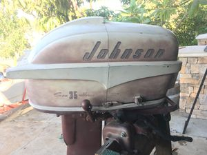 1957 Johnson 35 hp outboard for Sale in Stanton, CA