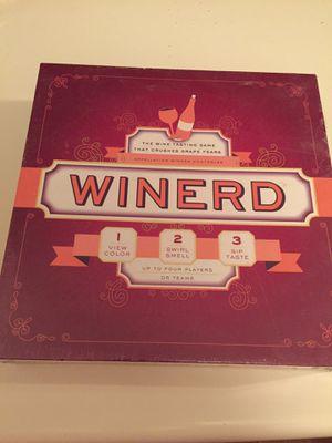 Winerd trivia game for Sale in Davis, CA