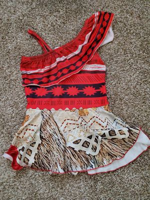 Moana bathing suit size girls 5/6 for Sale in Las Vegas, NV