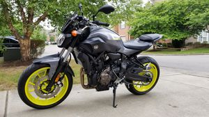 2016 Yamaha FZ-07 motorcycle for Sale in UPPER ARLNGTN, OH