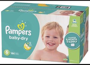 Pampers diapers size 6 Baby Dry for Sale in Downey, CA