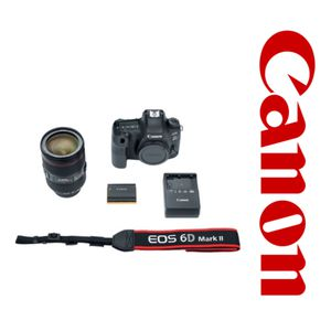 Canon EOS 6D Mark II DSLR Camera with 24-105mm f/4L II Lens (Reg $2,699.00) for Sale in Apple Valley, CA
