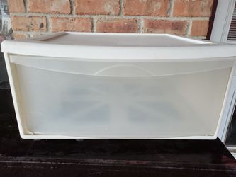 Plastic drawer storage for Sale in Mansfield,  TX
