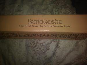 mokosha sauerkraut tamper for packing fermented foods for Sale in Portland, OR