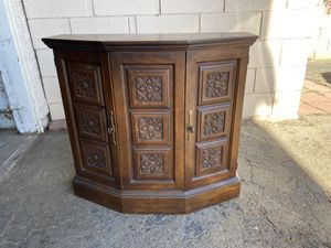 Antique Wooden Cabinet for Sale in Ontario, CA