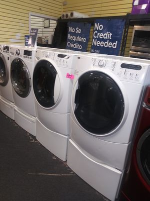 Kenmore electric front load set washer and dryer in exellent condition for Sale in McDonogh, MD