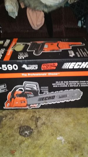 New and Used Chainsaw for Sale in Everett, WA - OfferUp