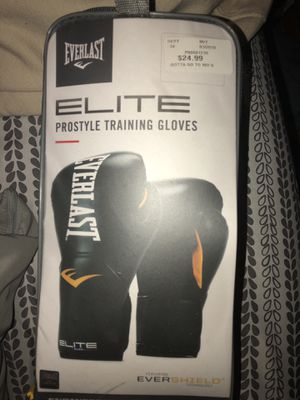 Everlast Prostyle Training Gloves for Sale in Jersey City, NJ
