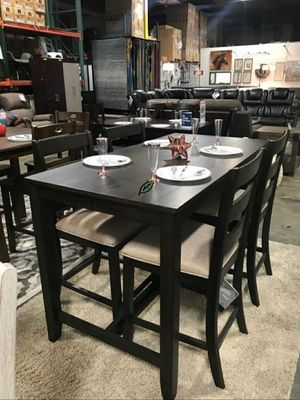 $39 Down  🍃🍂 BEST DEAL Rokane Brown Counter Height Set | D397 288 for Sale in Jessup, MD