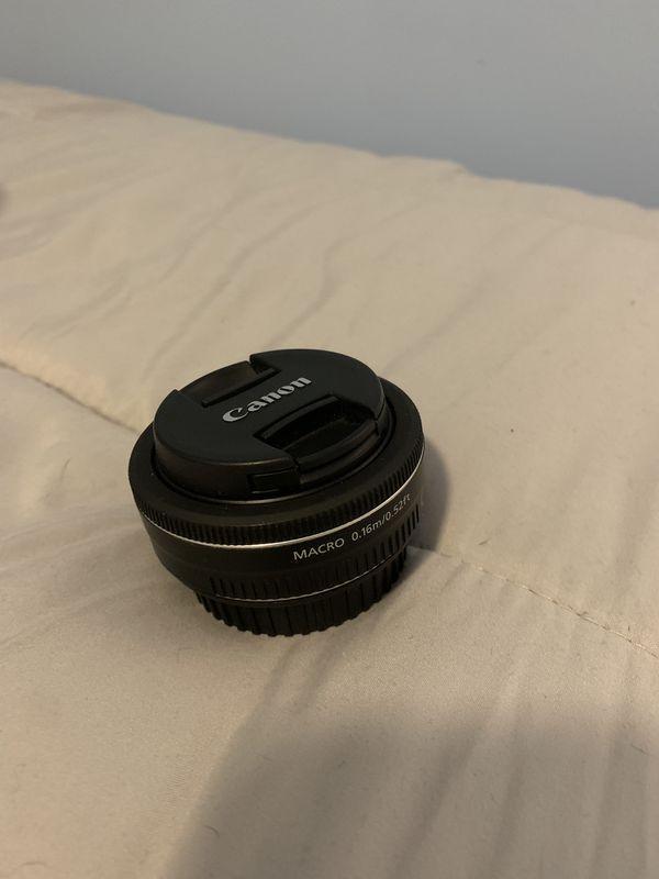 Canon EFS 24mm f2.8 STM prime lens