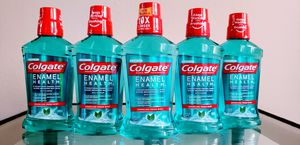 (5) Colgate Enamel Health Mouthwash 500ml - $10 For All FIRM for Sale in Tustin, CA