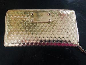 Metallic gold Kate Spade Wallet for Sale in Laurel, MD
