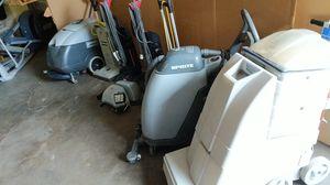 Spectrum 15P Sanitaire by Electrolux Nacecare Advance BackVacuum XP Advance Micromatic M17B Advance Sprite 12 Carpet Floor Cleaner for Sale in Mesa, AZ