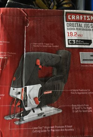 Craftsman orbital jig saw 19.2 volt for Sale in St. Louis, MO