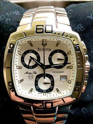 Bulova Marine Star Swiss Quartz Watch for Sale in Watauga, TX