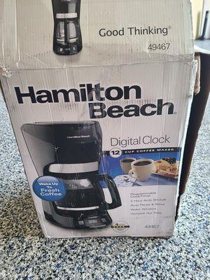 New Brand Hamilton Beach Coffee Maker/ no pot for Sale in Garden Grove, CA